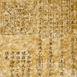 Historic chinese text - Foto Stock
