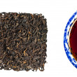 Chinese Pu-Erh tea - Stock Photo