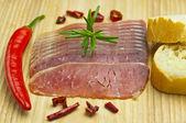 Ham of Hungary — Stock Photo