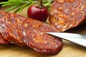 Chorizo sausage — Stock Photo