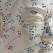 Acupuncture head model — Stock Photo