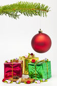 Gift for christmas — Stock Photo