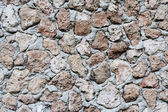 The wall built of stone. — Stock Photo