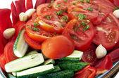 Natural and healthy food — Stock Photo