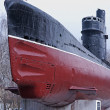 The old Soviet military submarine. — Stock Photo