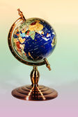 Color table desk globe. — Stockfoto