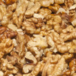 Grain peeled walnuts — Stock Photo