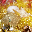 Royalty-Free Stock Photo: Christmas decoration with shiny glare