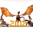 Dragons year 2012 — Stock Photo