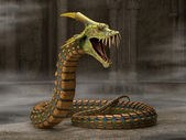Serpiente dragón — Foto de Stock