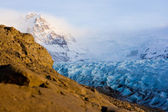 View of the Vatnajokull glacier — Stock Photo