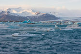 Jokulsarlon icebergs, Iceland — Stock Photo