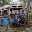Old rusty bus - Stock Photo