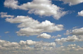 Clouds are on sky — Stock Photo
