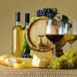 Wine and cheese — Stock Photo #6908839