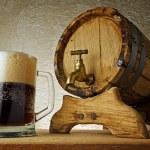 Dark beer — Stock Photo