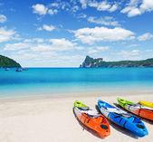 Kayaks — Stock fotografie