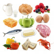 Stock Photo: Useful food
