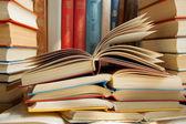 Böcker — Stockfoto