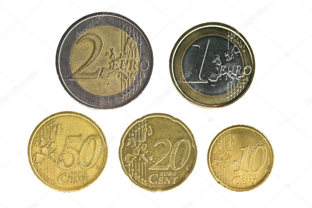 Set from european union coins — Stock Photo #7157260