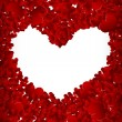 Valentine background from heart confetti — Stock Photo #7233957