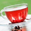 Foto de Stock  : Red rose tea