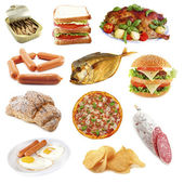Unhealthly food — Stock Photo