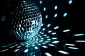 Party ball light reflection backgrounds — Stock Photo