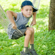 Boy_hammock — Stock Photo #7823853