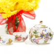 Tea and flowers — Stock Photo #7306368