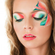 Floral make-up — Stock Photo #7946211
