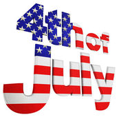 4th. Of July Angle View — Stock Photo