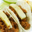 Stock Photo: Tacos Al Pastor MexicDish