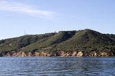 Point Loma San Diego From Sea — Stock Photo