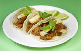 Mexican Al Pastor Tacos — Stock Photo
