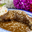Stock Photo: MexicChicken Mole
