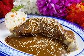 Mexican Chicken Mole — Stock Photo