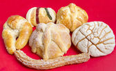 Mexican Traditional Sweet Bread — Stock Photo