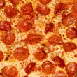 Pepperoni Pizza Macro — Stock Photo