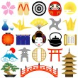 Royalty-Free Stock Photo: Japanese icons