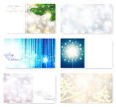 Christmas card templates — Stock Vector