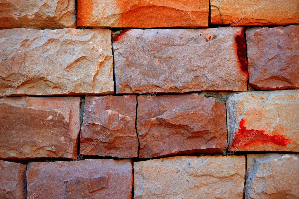 Warm tone brick wall. — Stock Photo #7120326