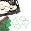Recycle technology and device — Stock Photo #7257009