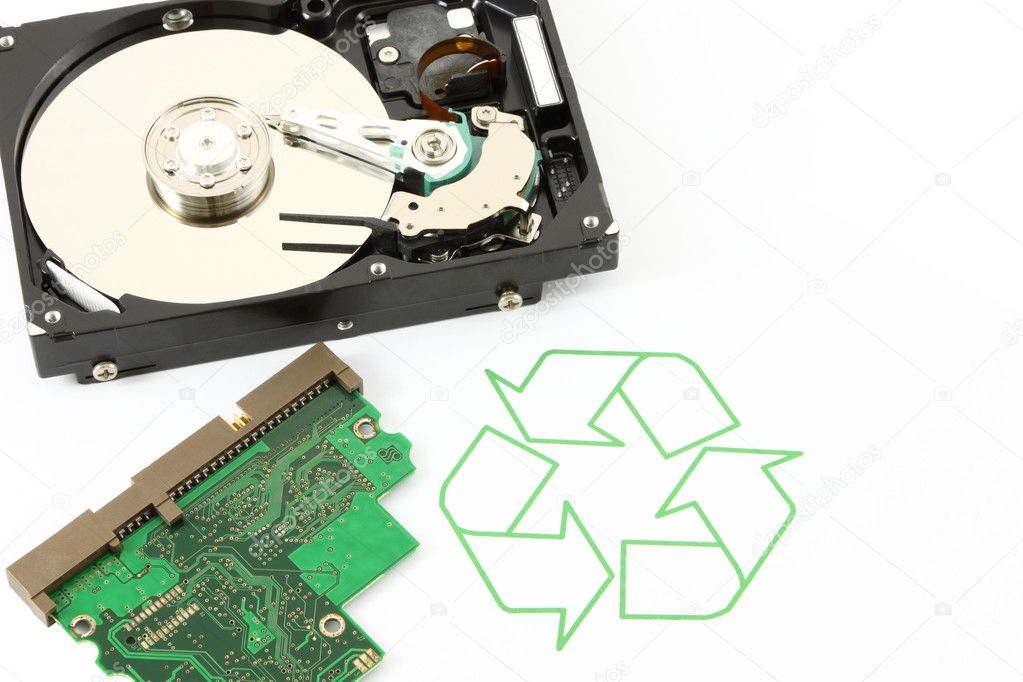Recycle technology and device for better world of life. — Stock Photo #7257009
