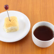 Breaking time for tea and light meal. — Stock Photo #7911301