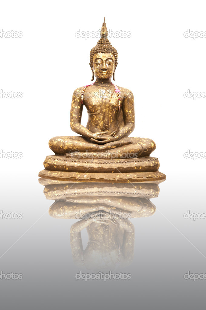 Buddha Statue with reflection — Stock Photo #7904933