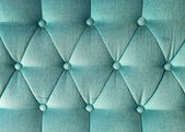 Texture of green fabric vintage sofa for background — Stock Photo