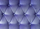 Texture of blue fabric vintage sofa for background — Stock Photo