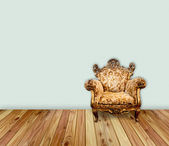 Classical interior with an armchair — Stock Photo