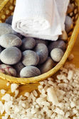 Stones for spa — Stock Photo
